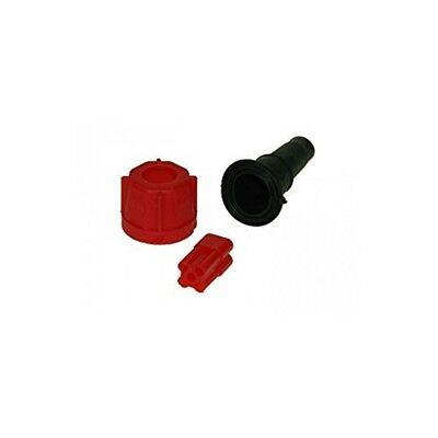 Maypole 804pr Plug, Red - Radex Mp Plug Trailer Wiring Connector 5 Pin Green