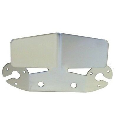 Tow-tekta - Bumper Protector Plate - Large S/steel Bk - Towbar Towing Stainless