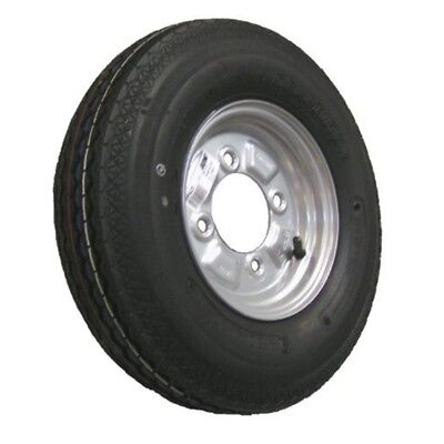 Maypole Mp425 400mm x 8-inch Trailer Wheel And Tyre - 8inch Wheel 400x8 4ply