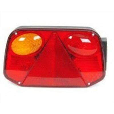 L/h Horiz Rear Combi Lamp S/t/i/f/ref/npl 5+4pin (2800/10) - Mp7509bl Radex Lh