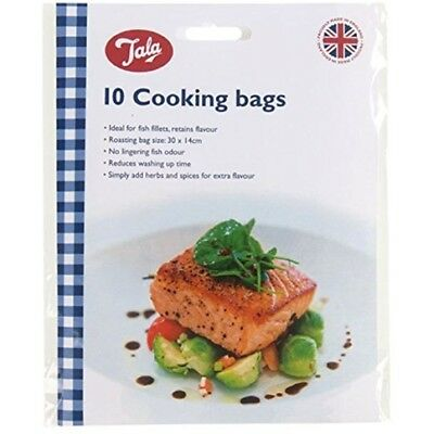 Tala Oven Bags - Cooking Roasting Fish 10 Chicken Meat x Ideal