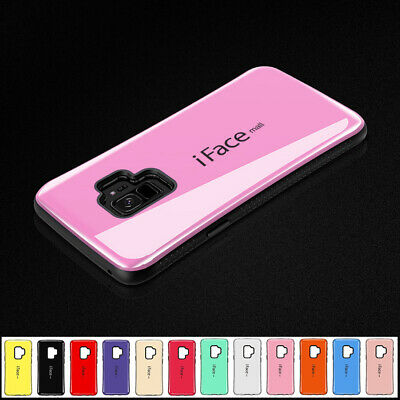 iFace Mall Hybrid Heavy Duty Shockproof Case Cover For Samsung S6 S7 S8 S9 Plus