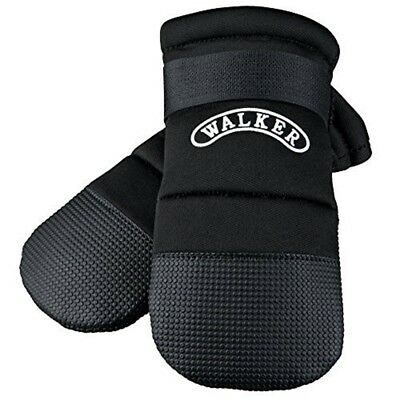 Trixie Walker Care Protective Boots (rottweiler ) - Dog Boot Paw Shoe Black