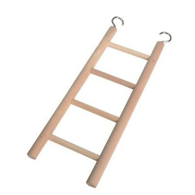 Trixie Wooden Ladder With Four Rugs, 20cm - Cage Bird Budgie Hamster Sizes 5
