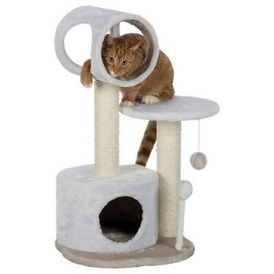 Lucia Scratching Post 75 Cm, White/light Taupe - Trixie Cats Tree Whitelight New