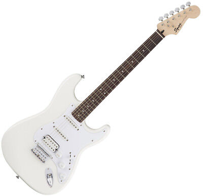 Squier Bullet Stratocaster Electric Guitar - HSS - Hard Tail - Arctic White