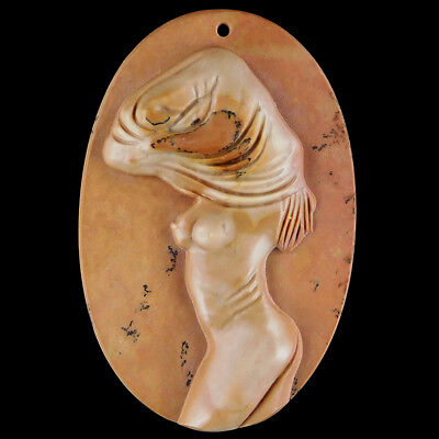 WalyCorp Carved Lady Model Bead DP501045