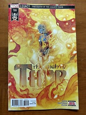 The Mighty Thor #705 Main Cover FIrst Print Death Of Marvel Legacy