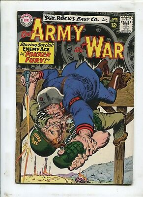 Our Army At War #155 - No Stripes For Me! - (6.5) 1965