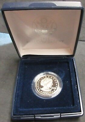 1999-P Proof Susan B Anthony Dollar Coin