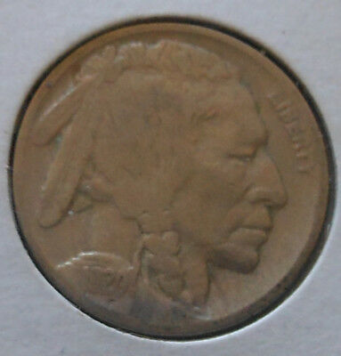 1920 Buffalo Nickel Nice Fine Condition Coin. 2/3 Horn And Good Details