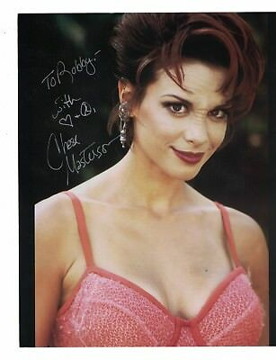 """Chase Masterson Star Trek Signed 8"""" x 10"""" Photo W/Our COA To Bobby"""