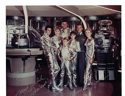 """Mark Goddard Lost in Space Signed 8"""" x 10"""" Photo W/Our COA To Bobby"""