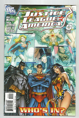 Justice League Of America # 0 * J. Scott Campbell Variant * Near Mint