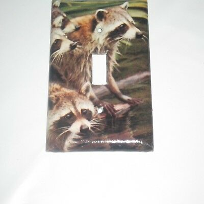 Classic Raccoon Raccoons Farm Animal Light Switch Cover Plate