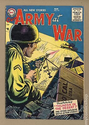Our Army at War #44 1956 VG- 3.5