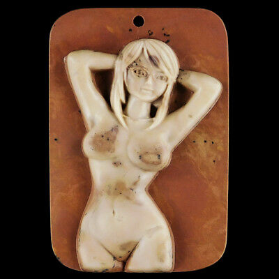 WalyCorp Carved Model Lady Bead DQ502008