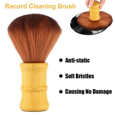 LP Vinyl Record Cleaning Kit Anti Static Carbon Fiber Brush Stylus Cleaner DH