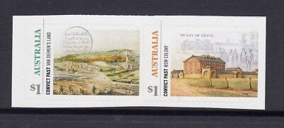 AUSTRALIA 2018 - CONVICT PAST P&S BOOKLET set of 2 MNH - Australian Heritage