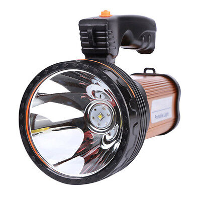 Searchlight Outdoor Torch Spotlight LED Rechargeable Flashlight Work Light Lamp