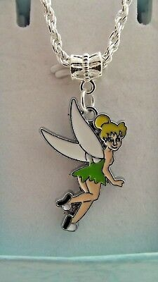 Fairy Princess Tinkerbell Necklace Age 3,4,5,6,7,8,Year Gift Box Party Birthday