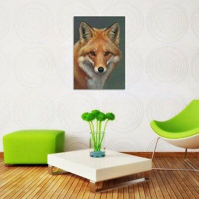 Fox Full Drill DIY 5D Diamond Embroidery Painting Animal Cross Stitch Home Decor