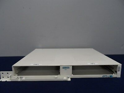 ADTRAN OPTI-3 Rackmount Chassis RMC 1184003L1 Warranty, No Cards Included