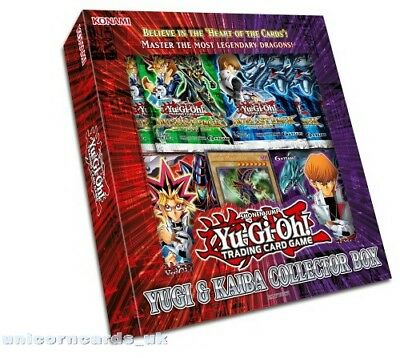 YuGiOh! Yugi & Kaiba Collector Box :: 2 Decks, 2 Promo Cards And 6 Booster Packs