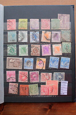 Lot Stamps Colonies British Used (F93929)