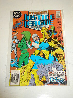Justice League Of America #31 Vol 2 Jla Dc Comics Adam Hughes October 1989