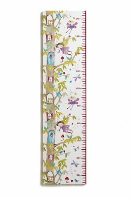 Fairy HEIGHT Chart Canvas Picture WOODLAND Fairies  Home Decor GIRLS Bedroom NEW