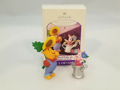 Hallmark Ornament 1998 The Garden Of Piglet And Pooh - #QEO8403-SDB