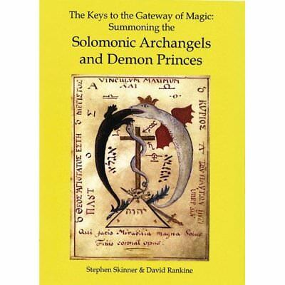 The Keys to the Gateway of Magic: Summoning the Solomon - Hardcover NEW Skinner,