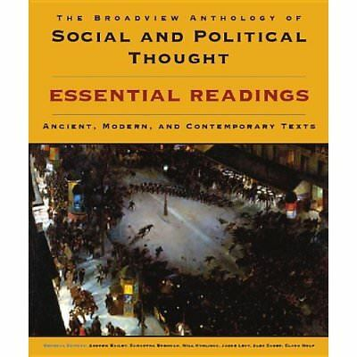 The Broadview Anthology of Social and Political Thought - Paperback NEW Bailey,
