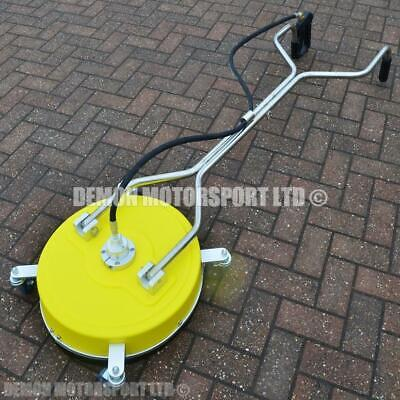 19 Inch Professional Pressure Washer Rotary Patio Cleaner, Driveway Block Paving