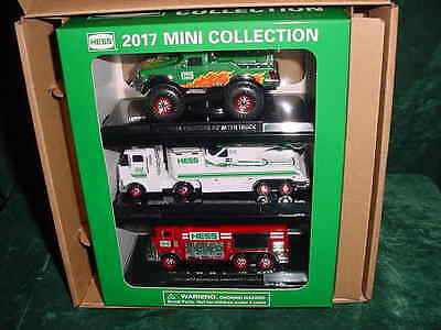 Easter Basket Gift 2017 Hess Truck Mini Set 3 Collectble Truck Toy Trucks  Mib