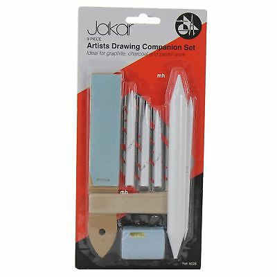 Jakar 9pc Artists Drawing Companion Set