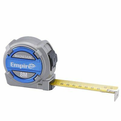 Empire Magnesium Tape Measure - 8m/26ft