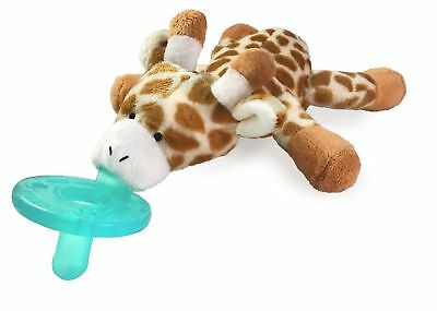 WubbaNub Infant Baby Soothie Pacifier - Limited Edition Retro Colors Giraffe