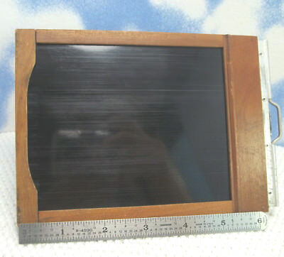4x5 Graphic Glass Plate (Film) Holder Folmer Graflex. 1923 / Last Used May 1939