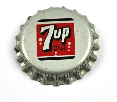 Vintage Seven Up 7up Soda Kronkorken USA Bottle Cap Korkdichtung 7 Up