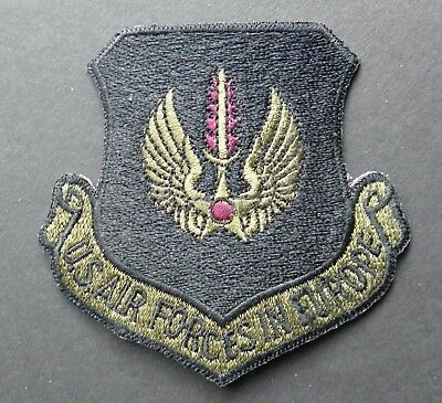 Usaf Us Air Force Forces In Europe Subdued Embroidered Patch 3 X 3 Inches