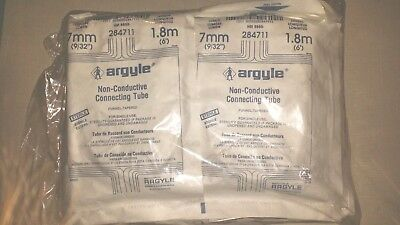 12 Argyle 284711 Non-Conductive Connecting Tubing Surgical Medical Lab Suction