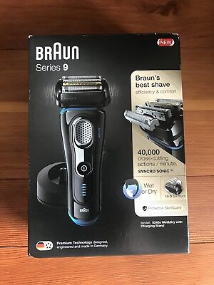 Braun Series 9 Model 9240s Wet & Dry Shaver With Charging Stand Brand New In Box
