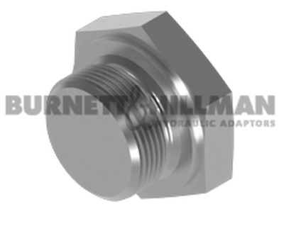 Burnett & Hillman METRIC Solid Plug 1.0mm Pitch Hydraulic Fitting