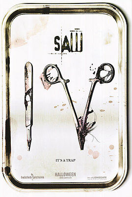 Saw IV Original Single-Sided Advance Rolled Movie Poster 27 x 40 NEW 2007 Horror
