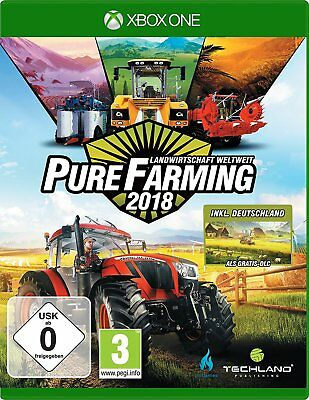 PURE Farming 2018 - AGRICOLTURA Weltweit - D1 Edition XBOX ONE NUOVO + conf.