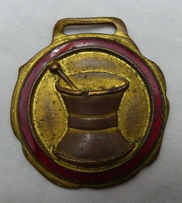 Vintage Advertising Apothecary Watch Fob Dioxogen Greenduck Co Chicago
