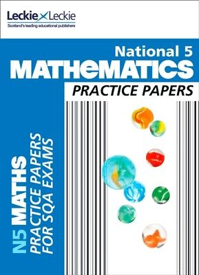 National 5 Mathematics Practice Exam Papers (Practice Papers for ...