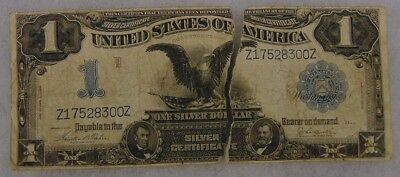 Series 1899 Black Eagle Large $1 One Dollar Note As Is Shown